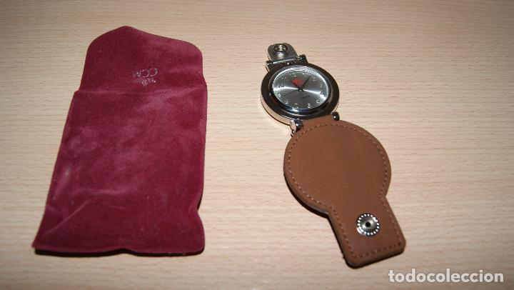 Relojes de bolsillo: Reloj de bolsillo - cinturón Quartz Detalle de Caja de ahorros CCM con funda. Pila gastada. - Foto 2 - 121414675