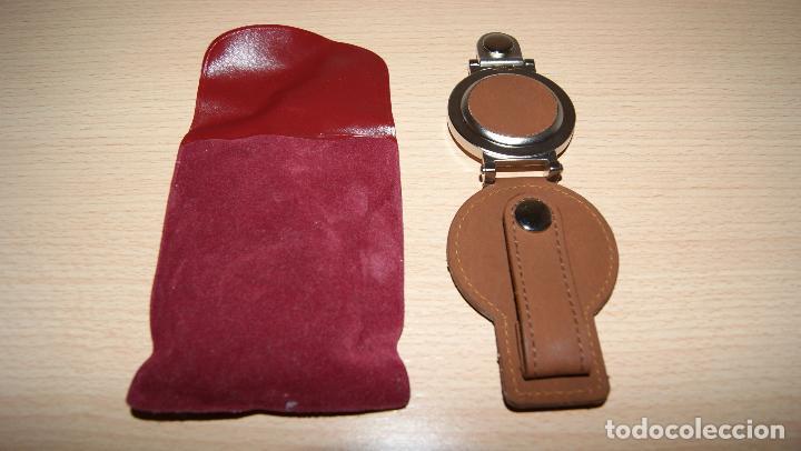 Relojes de bolsillo: Reloj de bolsillo - cinturón Quartz Detalle de Caja de ahorros CCM con funda. Pila gastada. - Foto 3 - 121414675