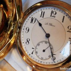 Relojes de bolsillo: RELOJ DE BOLSILLO SONERÍA A MINUTOS LE PHARE ORO 18K. Lote 121578675