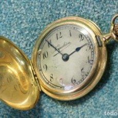 Relojes de bolsillo: RELOJ DE ORO DE BOLSILLO.NAPOLEÓN. 1907. Lote 121893599