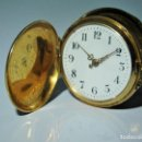 Relojes de bolsillo: ORO 18K, UN DIAMANTE Y CADENA DE ORO-RELOJ BOLSILLO SABONETA - CIRCA 1900 -. Lote 160778066