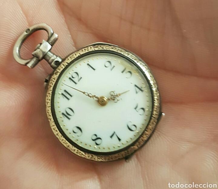 Antiguo Reloj De Bolsillo De Plata Por Favor Le Comprar Relojes