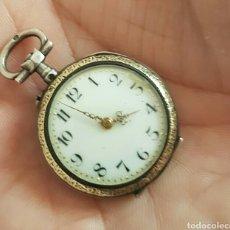 Relojes de bolsillo: ANTIGUO RELOJ DE BOLSILLO DE PLATA POR FAVOR LEER DESCRIPCIÓN. Lote 122672434