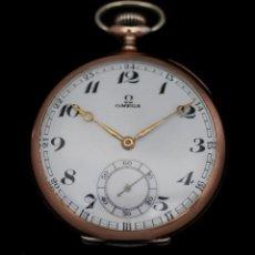 Relojes de bolsillo: ELEGANTE RELOJ DE BOLSILLO, DE CUERDA MANUAL, MARCA OMEGA, EN EXCELENTE ESTADO Y FUNCIONANDO. Lote 122820635