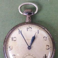 Relojes de bolsillo: RELOJ DE BOLSILLO. TIPO LEPINE. CAJA DE PLATA 800. SUIZA. SIGLO XX. . Lote 122869051