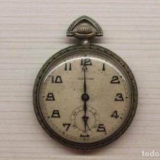 Relojes de bolsillo: HARTFORD RELOJ BOLSILLO, TANCONY WATCH SWISS, PARA REPARACIÓN O RECAMBIOS, 4 CM DE ESFERA. Lote 123580143