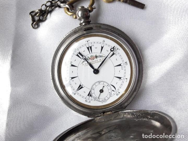 RELOJ DE BOLSILLO BILLODES - SERKISOFF - ZENITH (Relojes - Bolsillo Carga Manual)
