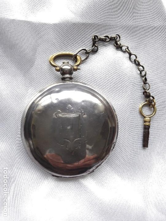 Relojes de bolsillo: RELOJ DE BOLSILLO BILLODES - SERKISOFF - ZENITH - Foto 7 - 124171127