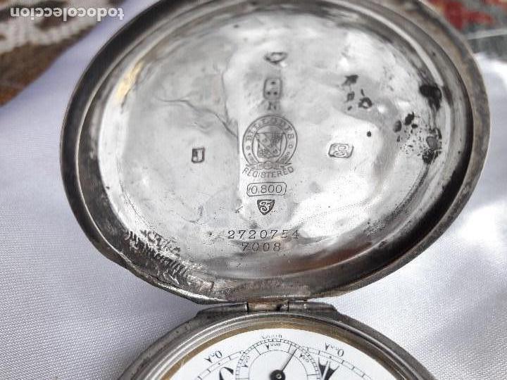 Relojes de bolsillo: RELOJ DE BOLSILLO BILLODES - SERKISOFF - ZENITH - Foto 2 - 124171127