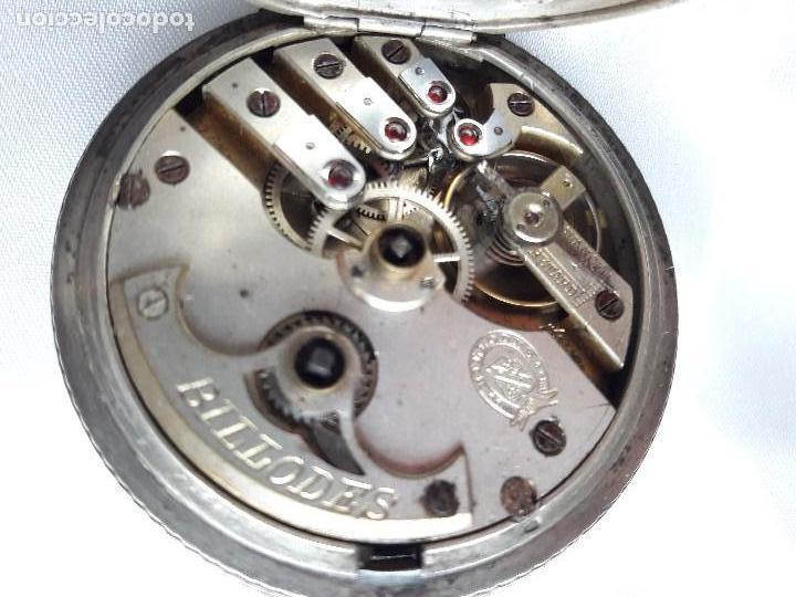 Relojes de bolsillo: RELOJ DE BOLSILLO BILLODES - SERKISOFF - ZENITH - Foto 5 - 124171127
