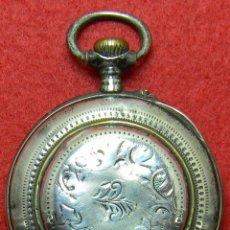 Relojes de bolsillo: PLATA 0.875 - 1876 - PHILADELPHIA - RELOJ SABONETA DE CABALLERO - 78 GRAMOS - 48 MM - NUMERADO. Lote 124459571