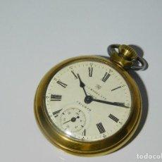 Relojes de bolsillo: ANTIGUO RELOJ DE BOLSILLO INGERSOLL LTD LONDON TRIUMPH - AÑOS 50 - FUNCIONANDO. Lote 124566759