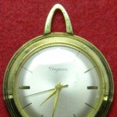 Relojes de bolsillo: RELOJ DUGENA DE SEÑORA - TIPO ENFERMERA - FUNCIONANDO -REQUIERE AJUSTES - AÑOS 70 - 26 GR. - 40 MM. Lote 124646267