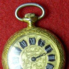 Relojes de bolsillo: MANUAL - MARCA AHS - FUNCIONANDO, REQUIERE AJUSTES - 16 GRAMOS - 26 MM. Lote 124655239
