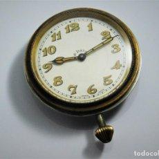 Relojes de bolsillo: ANTIGUO Y GRAN RELOJ 8 DÍAS-SUIZO-FUNCIONANDO-PIEZA DE COLECCIÓN. Lote 124961183