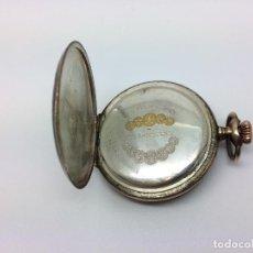 Relojes de bolsillo: VENDO RELOG DE BOLSILLO LONGINES (CUERVO Y SOBRINOS ). Lote 125996383