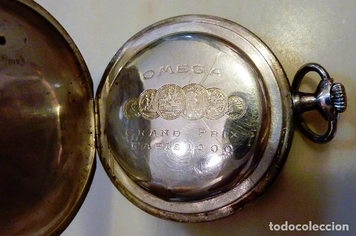 17f85b54f Taschenuhren: Antiguo Omega Grand Prix Paris 1900 en plata - 3 tapas - reloj  de