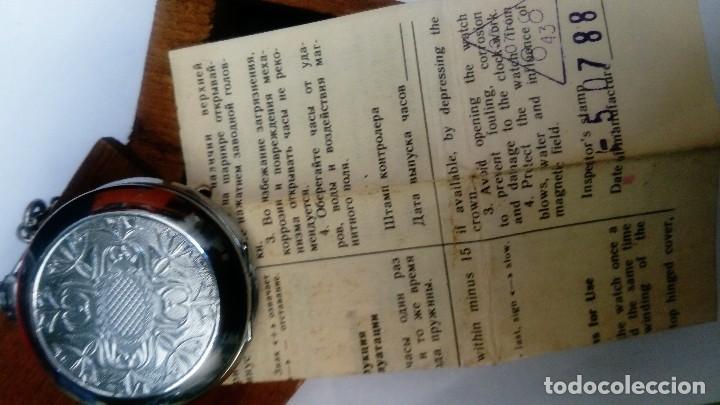 Relojes de bolsillo: Reloj de bolsillo Molnija - Foto 4 - 126278371