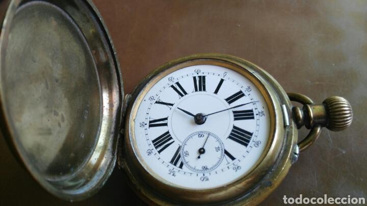CRONOMETRO DEBOLSILLO MARCA REMONTOIR GENEVE 10 RUVIELL (Relojes - Bolsillo Carga Manual)