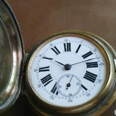Relojes de bolsillo: CRONOMETRO DEBOLSILLO MARCA REMONTOIR GENEVE 10 RUVIELL. Lote 126459154