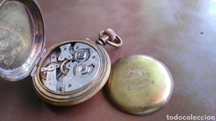 Relojes de bolsillo: Cronometro debolsillo marca Remontoir geneve 10 Ruviell - Foto 2 - 126459154