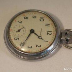 Relojes de bolsillo: RELOJ DE BOLSILLO ANTIGUO INGLES INGERSOLD. Lote 126525939