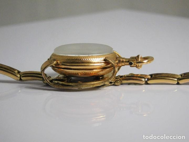 Relojes de bolsillo: ANTIGUA Y MUY RARA PULSERA PARA CONVERTIR UN RELOJ DE BOLSILLO TIPO MONJA A RELOJ DE PULSERA - Foto 6 - 126688199
