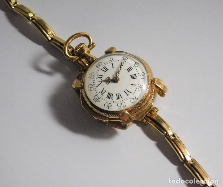 Relojes de bolsillo: ANTIGUA Y MUY RARA PULSERA PARA CONVERTIR UN RELOJ DE BOLSILLO TIPO MONJA A RELOJ DE PULSERA - Foto 13 - 126688199