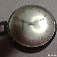 Relojes de bolsillo: CARAVELLE-BASE METALCASE. Lote 127531647