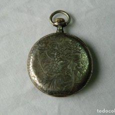 Relojes de bolsillo: RELOJ DE BOLSILLO WATTMAN .PLATA. Lote 128048983