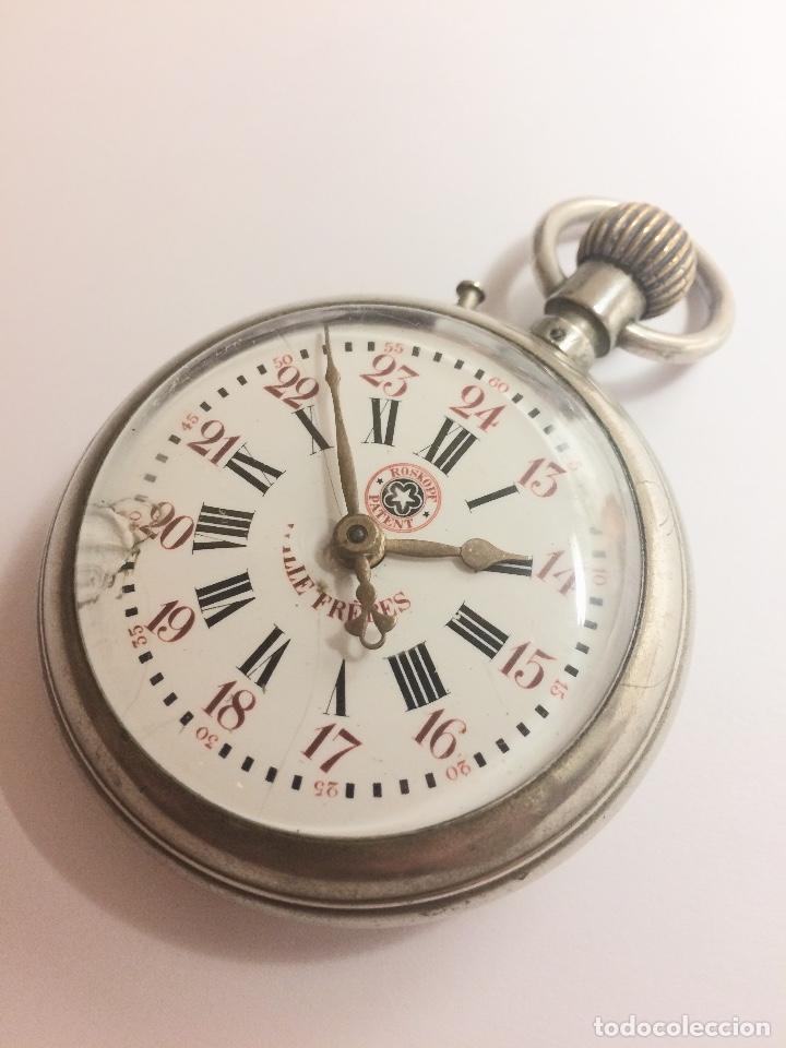 navegar por las últimas colecciones diseño innovador mejor amado Reloj de bolsillo roskopf patent 57mm - Vendido en Venta ...