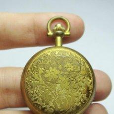 Relojes de bolsillo: RELOJ DE BOLSILLO. DE CARGA MANUAL. HALCON. CAJA Y ESFERA TRABAJADA.. Lote 128268515