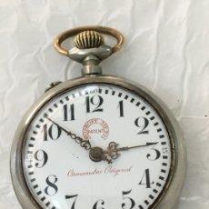 Relojes de bolsillo: RELOJ DE BOLSILLO ROSKOPF NIETO PATENT CRONOMETRO ORIGINAL EN PERFECTO ESTADO 53 MM. Lote 128338268