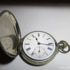 Relojes de bolsillo: ANTIGUO RELOJ SABONETA FUNCIONANDO TRES TAPAS COLECCION. Lote 128353547