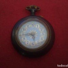 Relojes de bolsillo: BONITO RELOJ DE BOLSILLO DE PEQUEÑO TAMAÑO. Lote 132591945