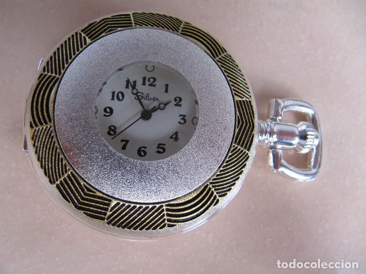 Relojes de bolsillo: RELOJ DE BOLSILLO DE CUERDA - Foto 2 - 128779475