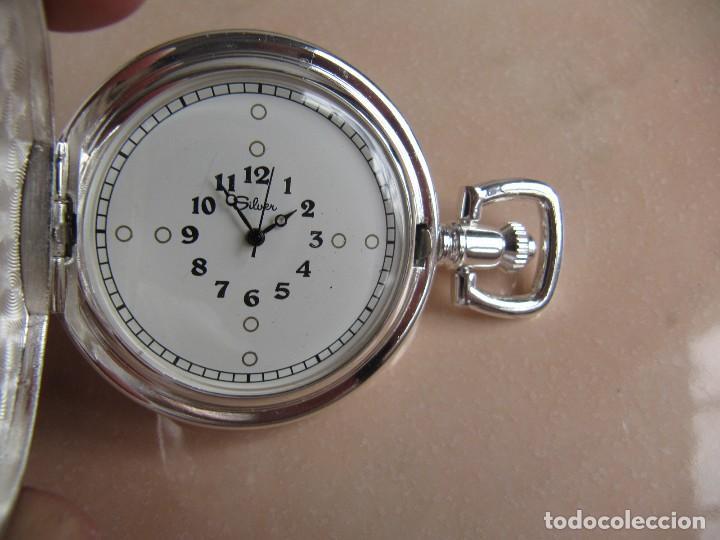 Relojes de bolsillo: RELOJ DE BOLSILLO DE CUERDA - Foto 3 - 128779475