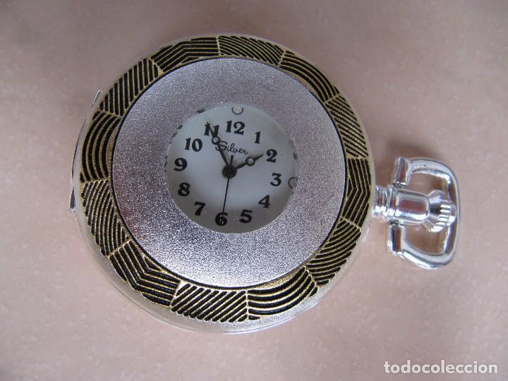 Relojes de bolsillo: RELOJ DE BOLSILLO DE CUERDA - Foto 5 - 128779475