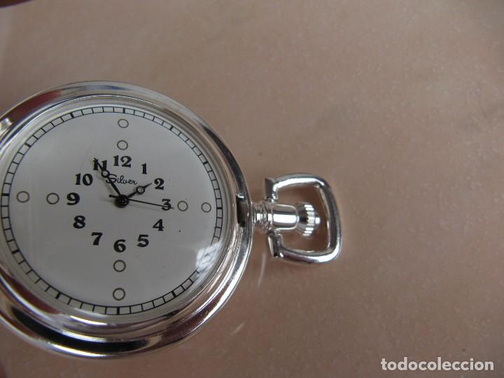 Relojes de bolsillo: RELOJ DE BOLSILLO DE CUERDA - Foto 6 - 128779475