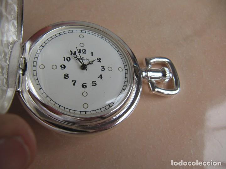 Relojes de bolsillo: RELOJ DE BOLSILLO DE CUERDA - Foto 7 - 128779475