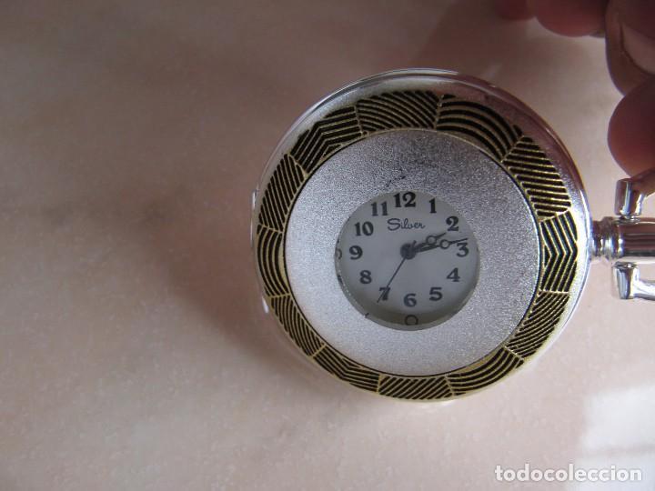 Relojes de bolsillo: RELOJ DE BOLSILLO DE CUERDA - Foto 9 - 128779475