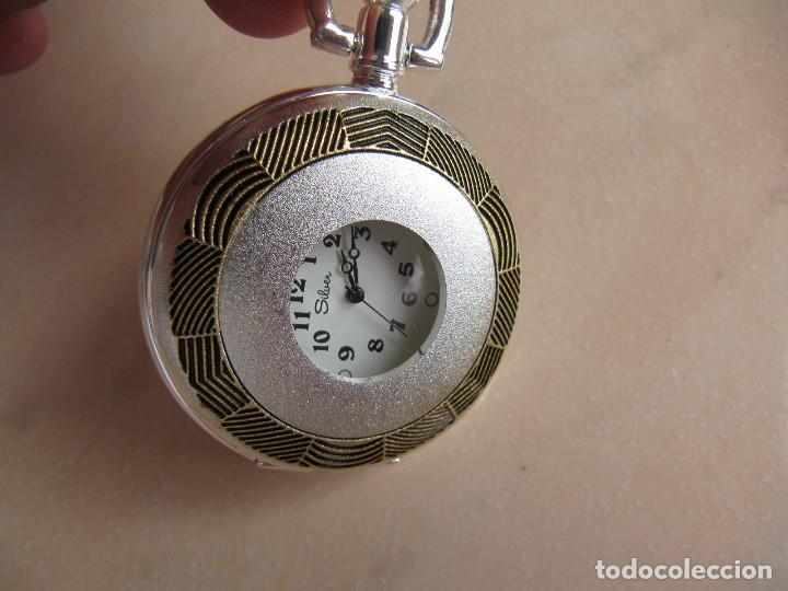 Relojes de bolsillo: RELOJ DE BOLSILLO DE CUERDA - Foto 10 - 128779475