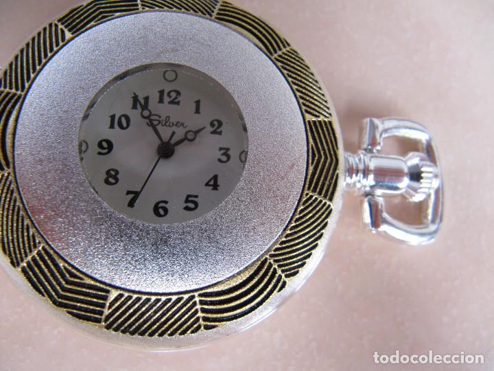 Relojes de bolsillo: RELOJ DE BOLSILLO DE CUERDA - Foto 13 - 128779475