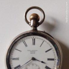 Relojes de bolsillo: RELOJ DE BOLSILLO DE PLATA PAUL JEANNOT N 4015 GENEVE. Lote 128855099