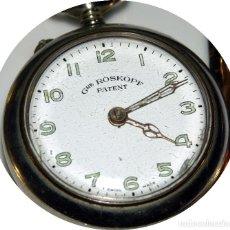 Relojes de bolsillo: GRE ROSKOPH PATENT. Lote 128917723