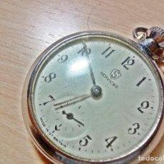 Relojes de bolsillo: RELOJ INGLES MECANICO.. Lote 128955195