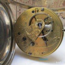 Relojes de bolsillo: FUSEE SEMICATALINO 1868. Lote 129052683