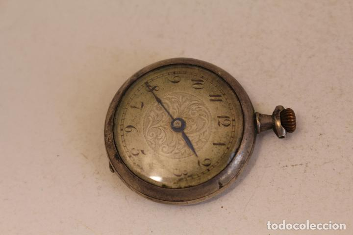 RELOJ PEQUEÑO DE BOLSILLO EN PLATA DE LEY (Relojes - Bolsillo Carga Manual)