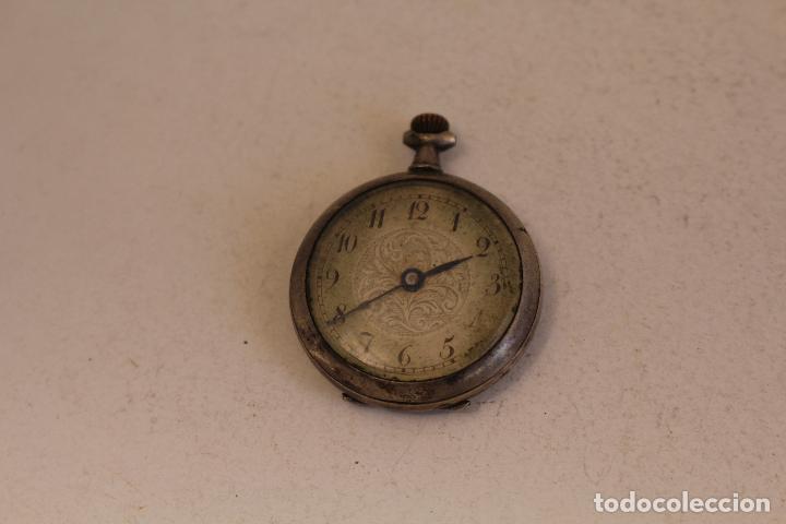 Relojes de bolsillo: reloj pequeño de bolsillo en plata de ley - Foto 4 - 129127271