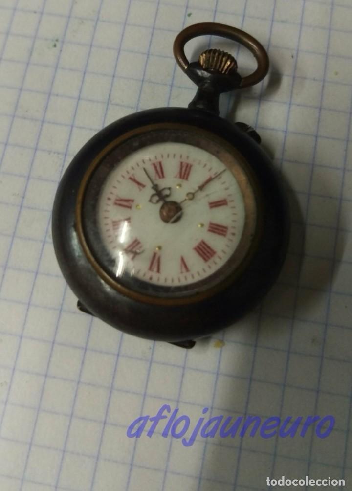 ANTIGUO RELOJ DE MONJA A RESTAURAR (Relojes - Bolsillo Carga Manual)